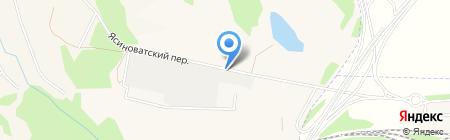 Драйв на карте Авдеевки
