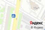 Схема проезда до компании Автостоянка на Сормовском проезде в Москве