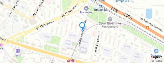 проезд Вешняковский 4-й