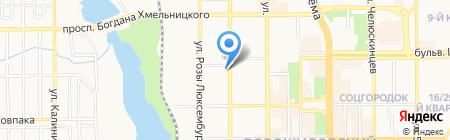 МарГоша на карте Донецка