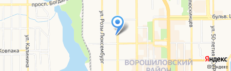 Ветер перемен на карте Донецка