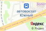 Схема проезда до компании Продовольственный киоск в Донецке