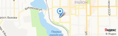 Квартирный вопрос на карте Донецка
