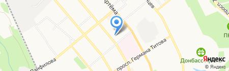 Альфа Страхование на карте Донецка