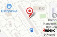 Схема проезда до компании Столичная Энергетическая Компания в Москве