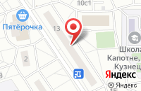 Схема проезда до компании Монтажстройсервис в Москве