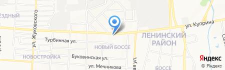 Виолд на карте Донецка