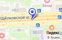 Схема проезда до компании ОПТОВО-РОЗНИЧНАЯ ФИРМА ТЕХАВТОЦЕНТР в Москве