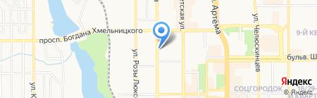 Кофеман на карте Донецка