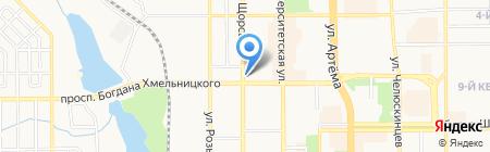 Нотариус Арсеньева А.А. на карте Донецка