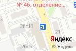 Схема проезда до компании Нок-Сервис в Москве