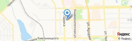 Парк-Авеню на карте Донецка