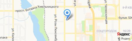 Донецкая общеобразовательная школа I-III ступеней №14 на карте Донецка