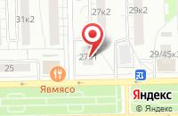 Схема проезда до компании Новости Сми 2000 в Москве