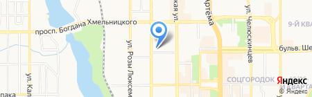 Альянс Украина на карте Донецка