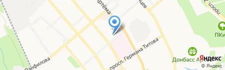 Донецкое казенное экспериментальное протезно-ортопедическое предприятие на карте Донецка