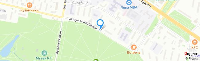 улица Чугунные Ворота