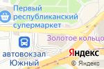 Схема проезда до компании Все для салонов красоты в Донецке