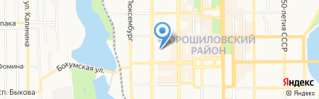 Детский сад №132 на карте Донецка