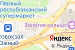 Схема проезда до компании Золотой Ключик в Донецке