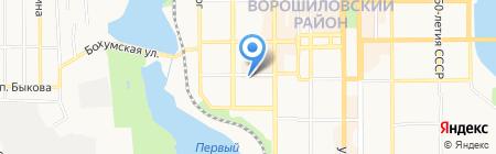 Необходимка на карте Донецка