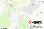 Схема проезда до компании Киоск по продаже мороженого в Акулово