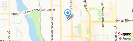 Magic Spika на карте Донецка