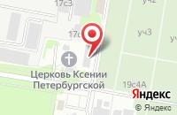 Схема проезда до компании Бокс Дизайн в Москве