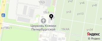 Автодопстиль на карте Москвы