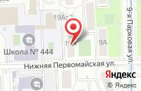 Схема проезда до компании Магнитик в Кижеватово