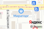 Схема проезда до компании Спортмастер в Москве