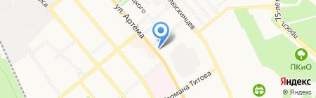 Викна Груп на карте Донецка