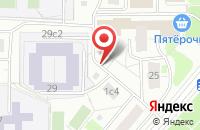 Схема проезда до компании Ирида в Москве