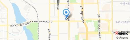 Модный магазин на карте Донецка