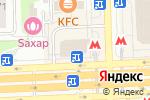 Схема проезда до компании Билайн - Домашний интернет и ТВ в Москве