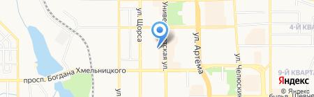 Киоск по ремонту обуви на карте Донецка