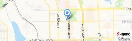 Спецтехмонтаж на карте Донецка