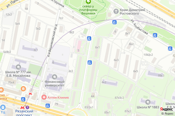 Ремонт телевизоров Улица Вострухина на яндекс карте