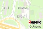 Схема проезда до компании Утро в Москве