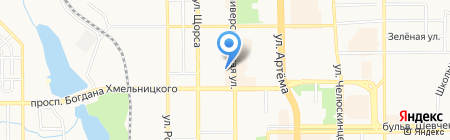 Нотариус Микула А.Б. на карте Донецка
