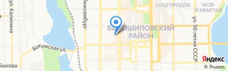 Планета Тревел на карте Донецка