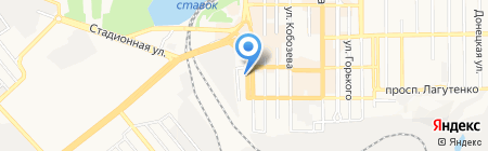 Спец-Контакт на карте Донецка