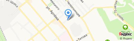Тициан на карте Донецка