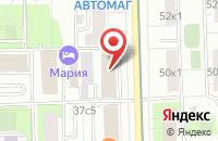 Схема проезда до компании Шираджи в Москве