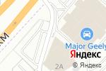 Схема проезда до компании ДайвДек в Дзержинском