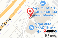 Схема проезда до компании Lordboard в Дзержинском