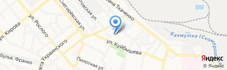 Детский сад №187 на карте Донецка