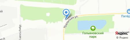 Ледаком на карте Москвы