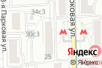 Схема проезда до компании ГАСТРОНОМчик в Москве