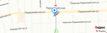 Поступь на карте Москвы